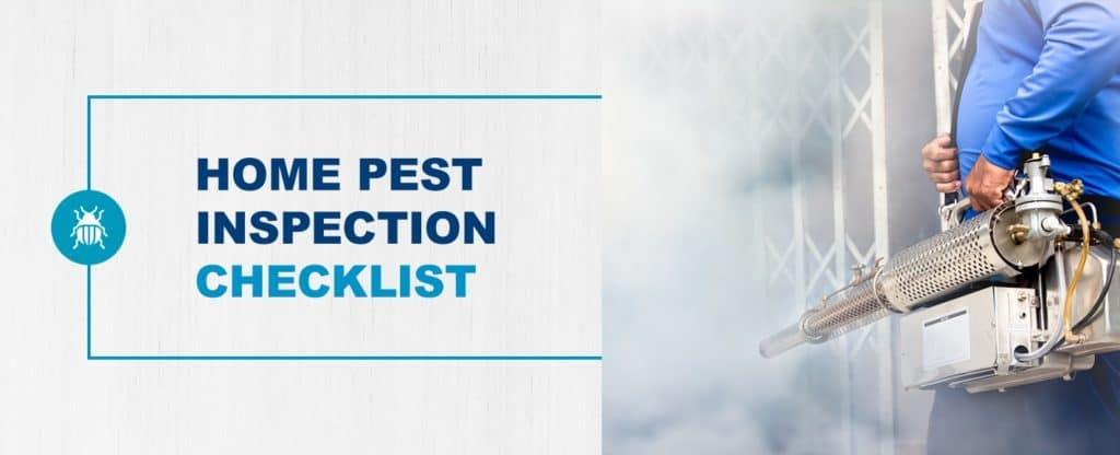 Home Pest Inspection Checklist