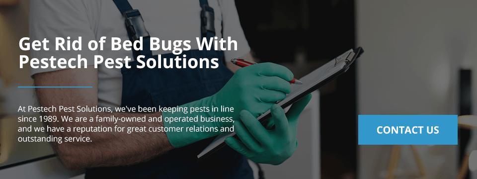 Contact Pestech Bed Bugs