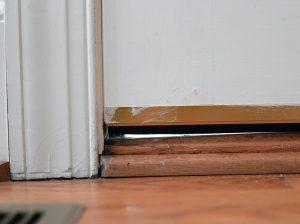 Pest Entry Points: Door Gaps